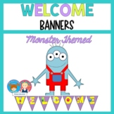 Welcome Banner {Mini Monster Themed}