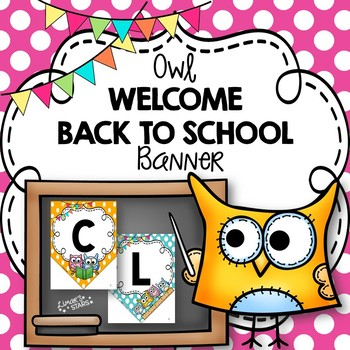 Welcome Banner: Owl Theme