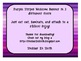 Welcome Banner - Owl Theme - purple stripes