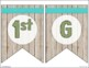 Welcome Banner Pennants - Rustic Farmhouse Chic