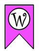 Welcome Banner: Pink and Green