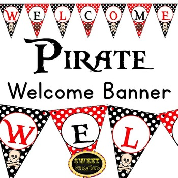 Welcome Banner (Pirate Theme)