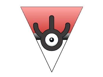 Welcome Banner Pokemon- Unown