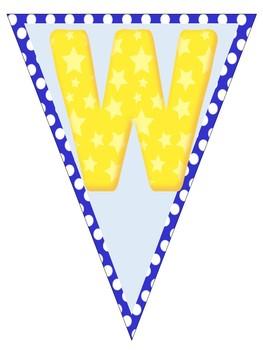 Welcome Banner {Polka-Dot Themed}