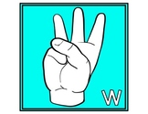 Welcome Banner Poster Signs in American Sign Language (ASL)