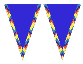 Welcome Banner- Primary Chevron