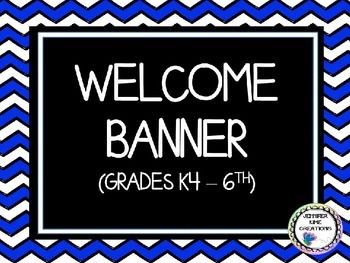 Welcome Banner - Primary Colors