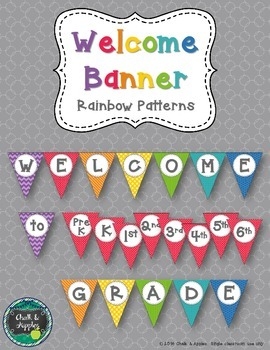 Welcome Banner - Perfect Patterns