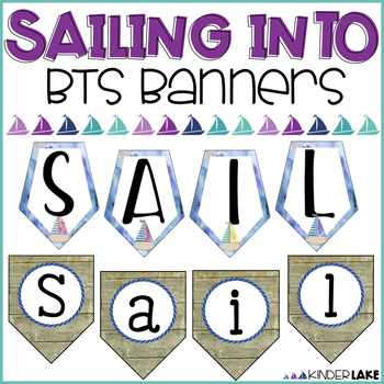 Welcome Back to School Banner - Sailing Into
