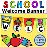 Welcome Banner (School Theme)