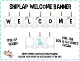 Welcome Banner {Shiplap Wood Series}