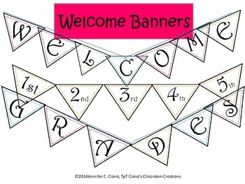 Welcome Banner (Triangle)