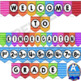 Welcome Banner:  Watercolor Decor