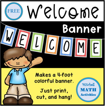 Welcome Banner (Wavy Colors)