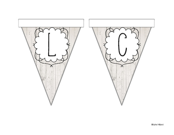 *FREEBIE* Welcome Banner - White Wood