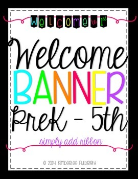Welcome Banner (add ribbon)