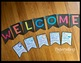 Back to School Welcome Banner and I Am Pennant Free