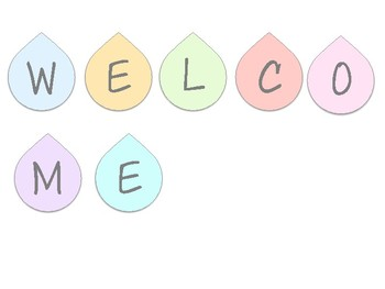 Welcome Banner display