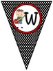 Rock Star/Music Notes ~ Welcome Banner in Polka Dot Print