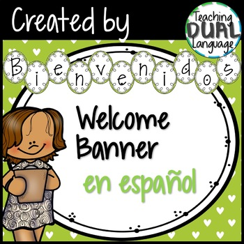 Welcome Banner in Spanish