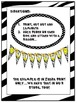 Welcome Banner in Zebra and Polka Dot Print with Happy Faces