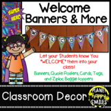 Welcome Banner ~ Super Hero Theme