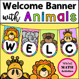 Welcome Banner with Animals