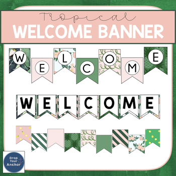 Welcome Banners - Editable