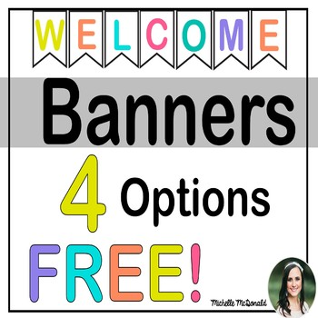 Welcome Banners: FREE