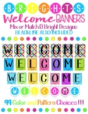Welcome Banners Meet the Teacher Open House First Day of S