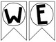 Welcome Banners - Two Styles - Print on Your Favorite Paper