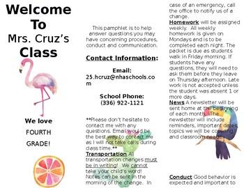 Welcome Brochure