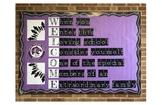 Welcome Bulletin Board