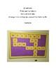 Welcome Bulletin Board (Scrabble Letters)
