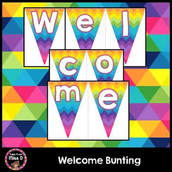 Welcome Bunting