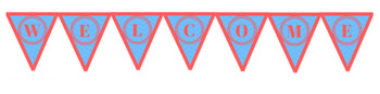 Welcome Bunting Freebie!