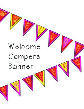 Welcome Campers Banner