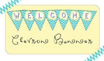 Welcome Chevron Banner
