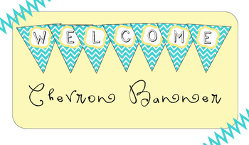 Welcome Chevron Banner