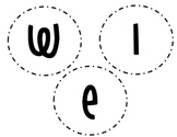 Welcome Circles to add to Paper Plates