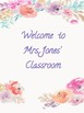 Welcome Classroom Posters