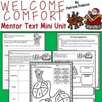 Welcome Comfort - Mini-Unit: Includes Mentor Sentence