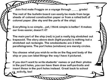 #backtoschool Welcome Crew Bulletin Board