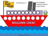 #backtoschool Welcome Crew Bulletin Board