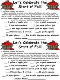 Welcome Fall Celebration!