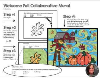 Fall Collaborative Poster - Fall Art Activity