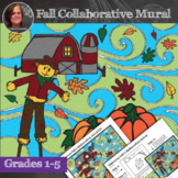 Fall Collaborative Poster - Fall Art Activity