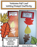 Welcome Fall: Leaf Writing Prompt Craft
