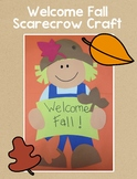 Welcome Fall Scarecrow Craft
