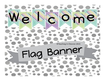 Welcome Flag Banner